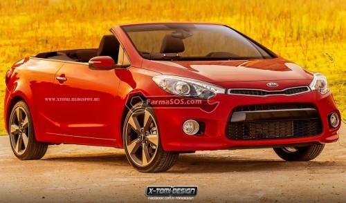 Kia Cerato Cabrio 500x294 طرح جدید کیا سورنتو با سقف جمع شده