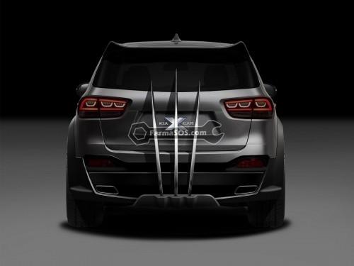Kia X Car 2 500x375 طراحی به سبک مردان ایکس از کیا سورنتو