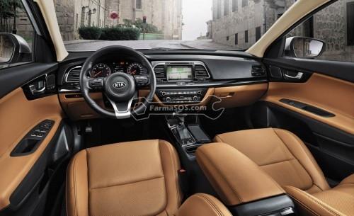 kia k4 interior 500x305 مینی اوپتیمای کیا  k4 مدل 2015